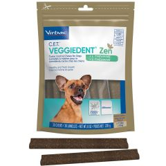 Virbac Veggiedent Zen Chews for Dogs 30 Pack (Canine)