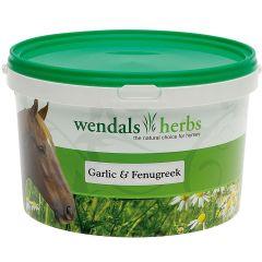 Wendals Herbs Garlic & Fenugreek 1kg (Equine)