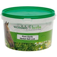 Wendals Herbs Pure Garlic Herbal Salt Lick 3.5kg (Equine)