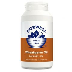 Dorwest Herbs Wheatgerm Oil 200 Capsules